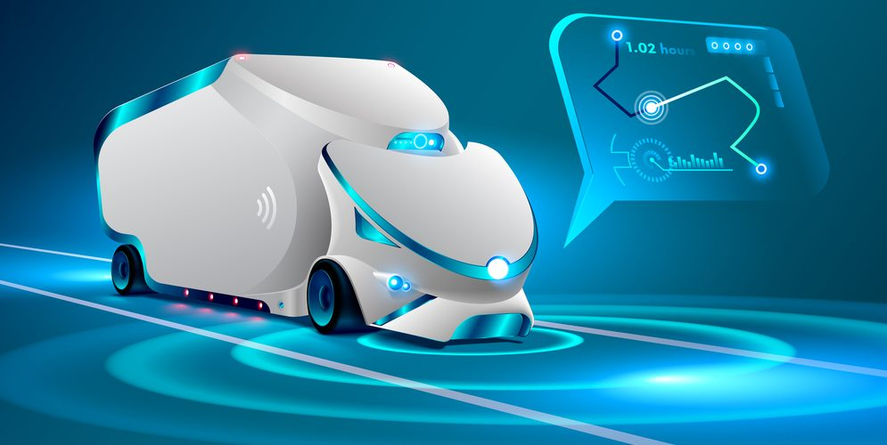 self-driving vehicles using AI in supply chain